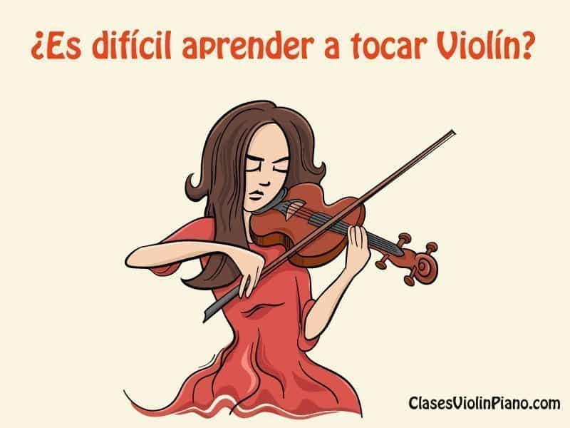 ¿Es difícil aprender a tocar violín?