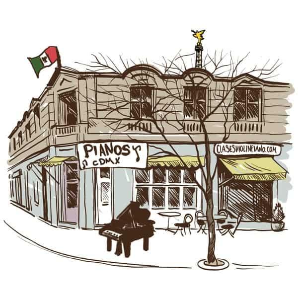 ¿Dónde comprar un piano en el D.F.?