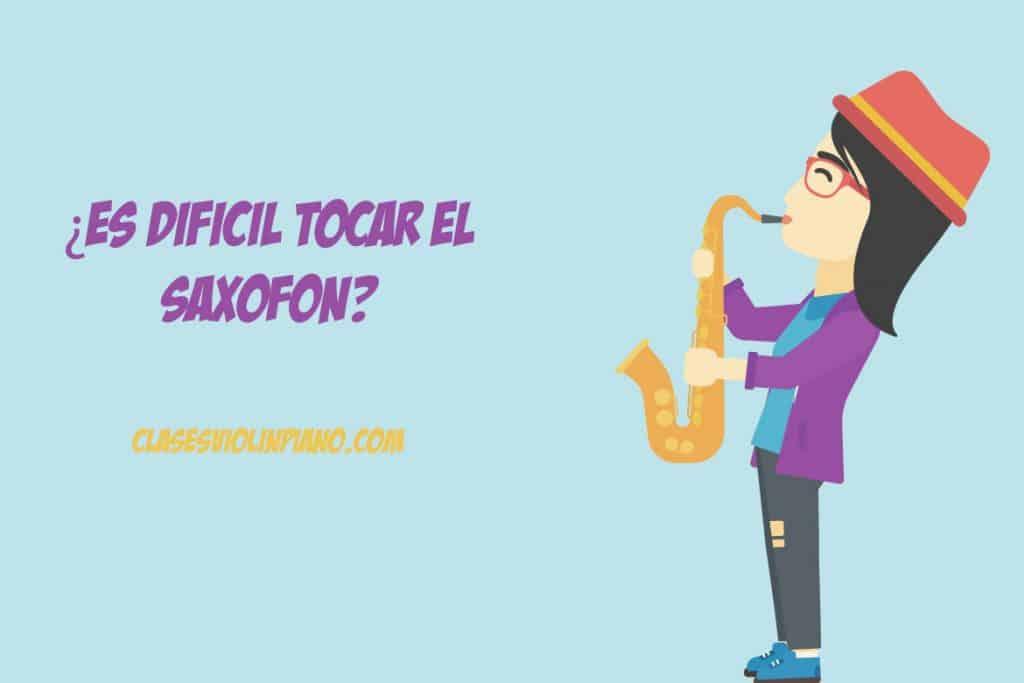es dificil tocar el saxofon 1