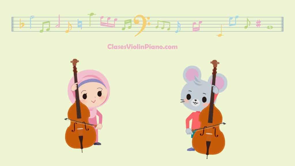 Clases de cello para niños 1