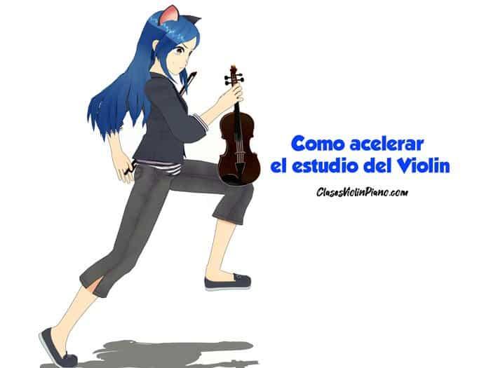 ¡Como Acelerar El estudio Del Violín!