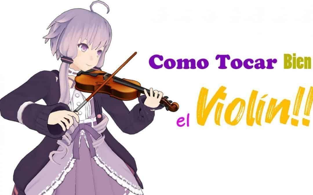 Como estudiar bien el violín ?