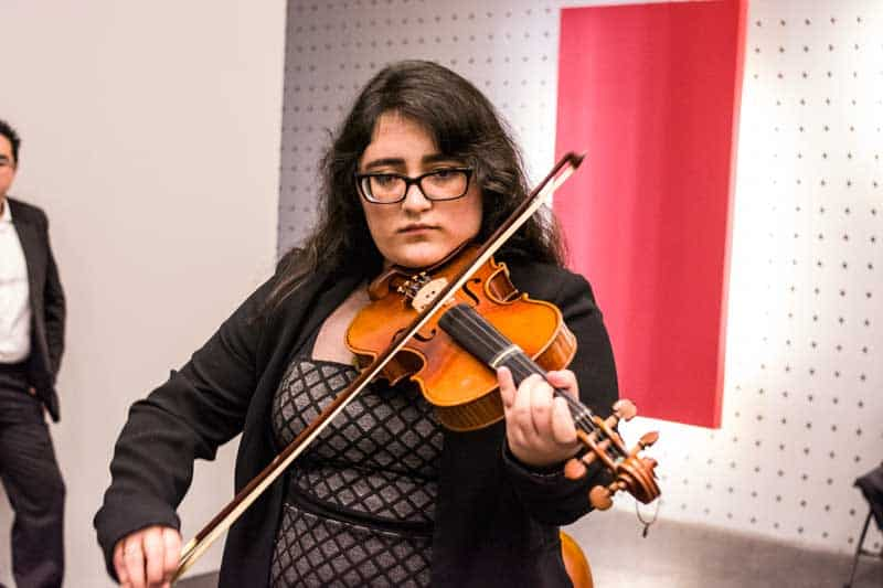 grande aprender violín 2 Regina perez